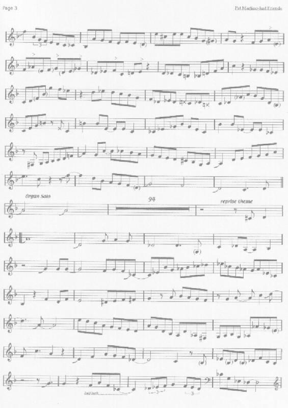 Solo Transcriptions Guitar Saxopedia