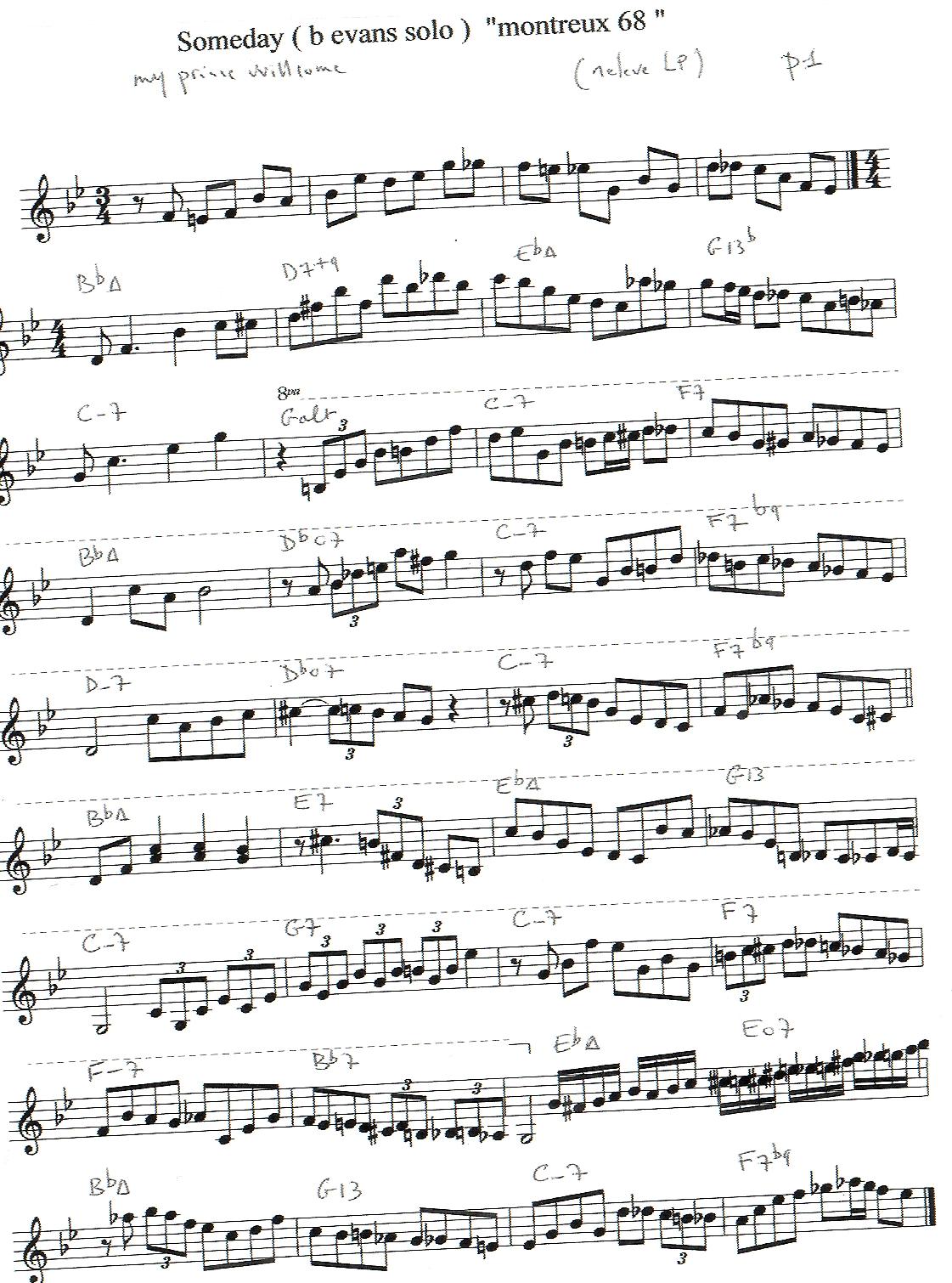 Solo Transcriptions Piano Saxopedia